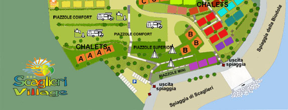camping elba piazzole
